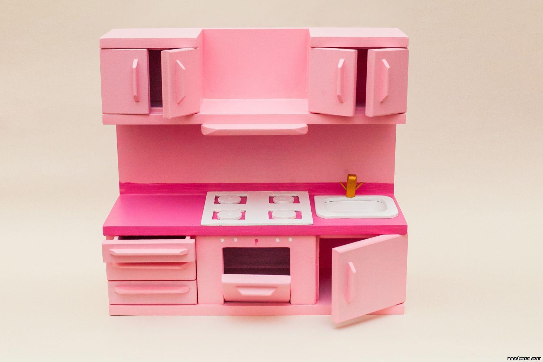 Мебель для кукол барби своими руками кухня